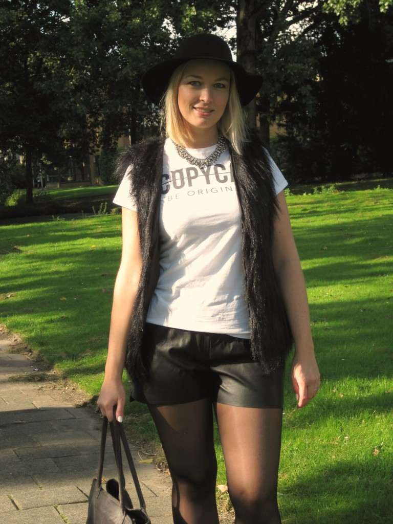outfit black & white 1