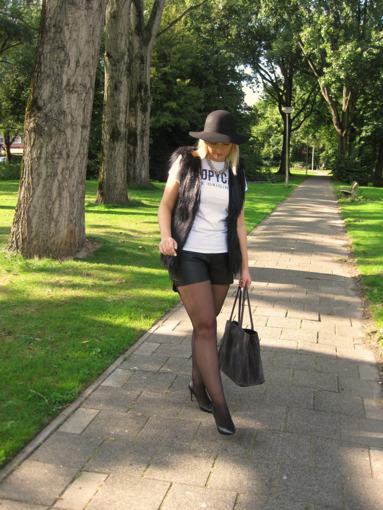 outfit black & white 2