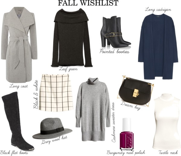 Fall wishlist 2015